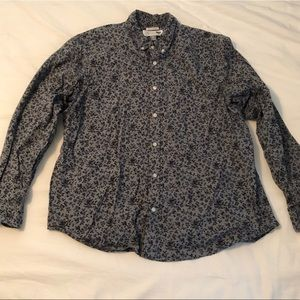 Old navy men's long sleeve button up